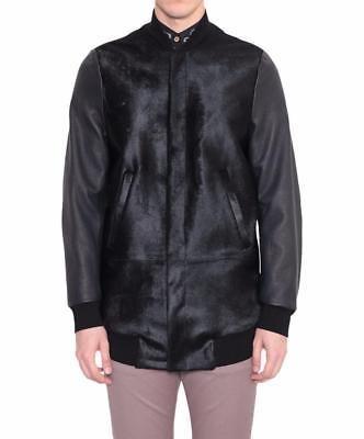 b2c9b6b2147 Mainline Paul Smith Calf hair Leather Jacket Black Medium Large RRP 2000  (eBay Link)