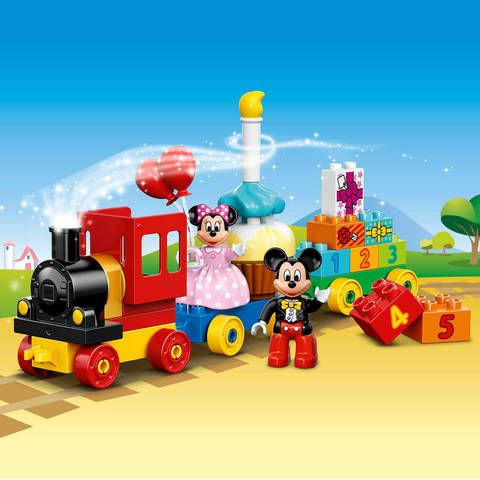 Lego Duplo Disney Mickey Amp Minnie Birthday Parade 10597 Toys Quot R Quot Us Disney Mickey Mouse Clubhouse Lego Duplo Minnie Birthday