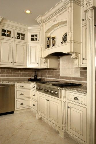 Barber Cabinet Co. - traditional - kitchen cabinets - louisville ...
