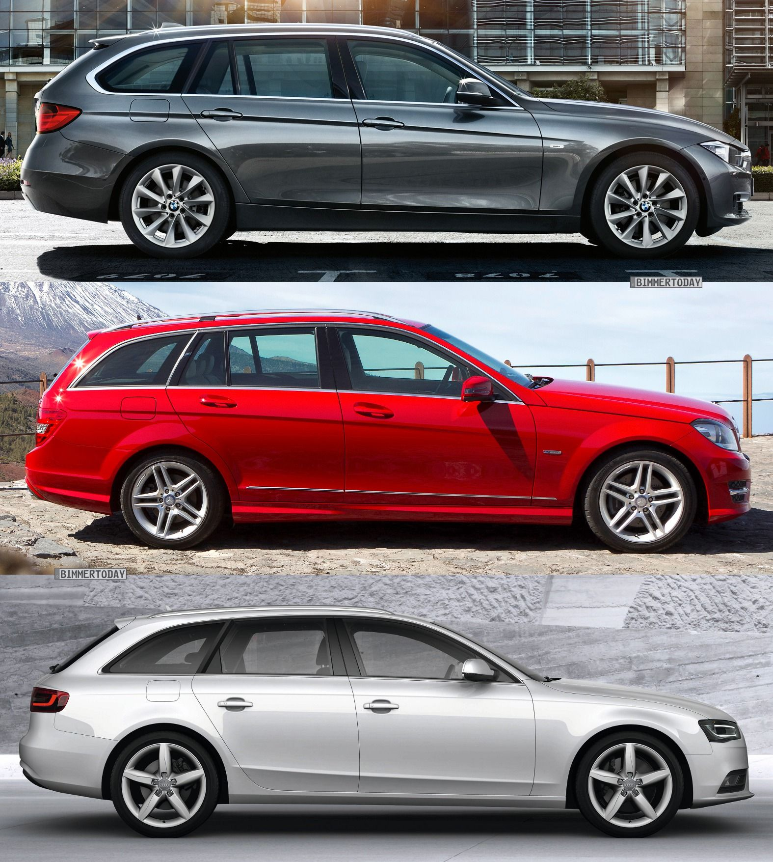 From Top = BMW, AUDI, Mercedes. Tips For Girls To