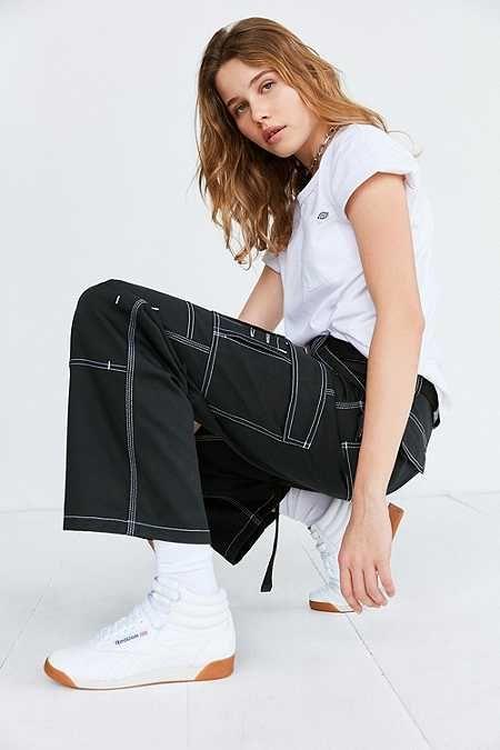 Dickies X Uo Carpenter Contrast Stitch Pant Denim Trends Fresh