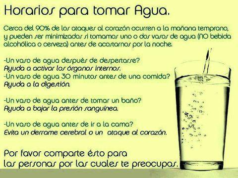El agua es una fuente de salud