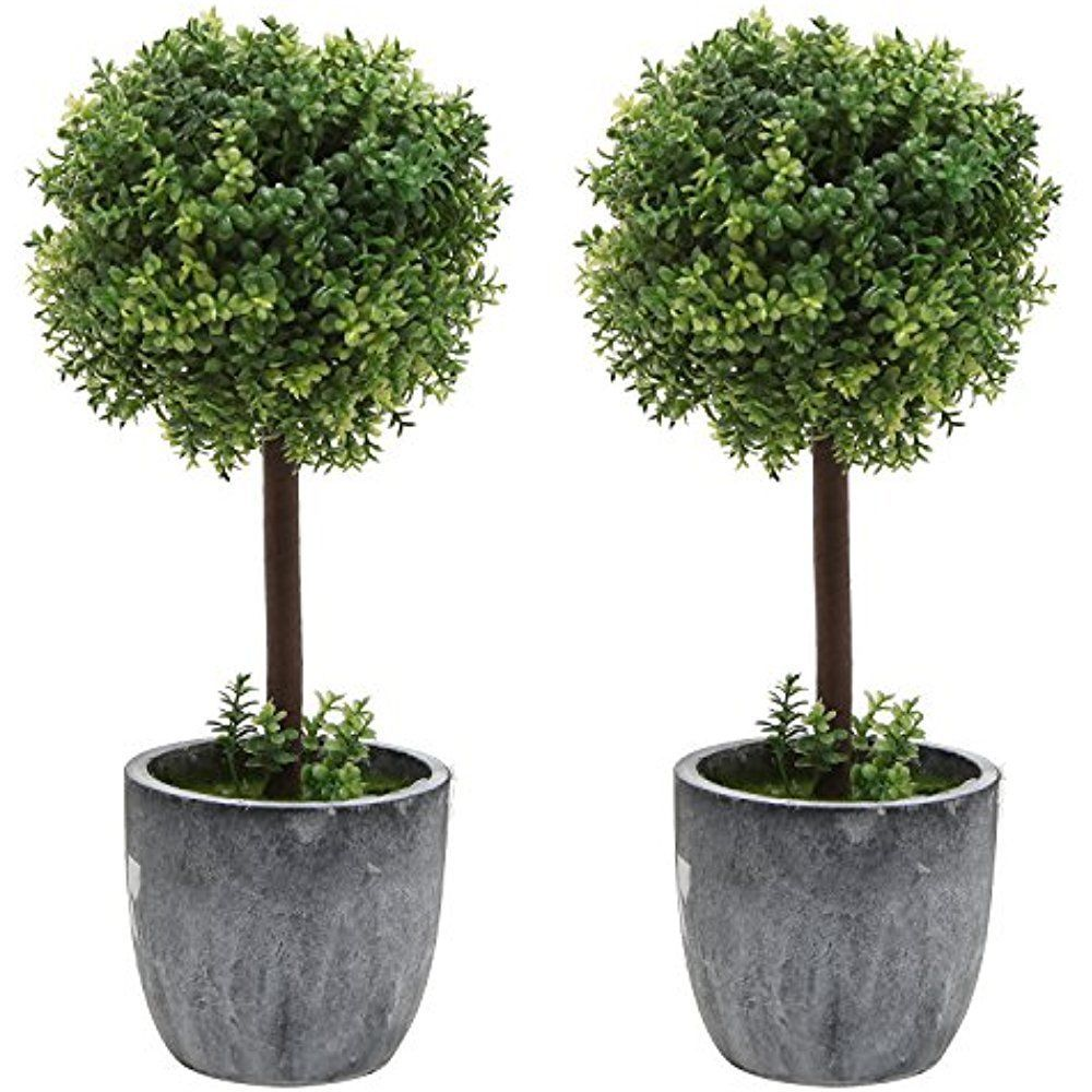 Category Artificial Topiaries Set Of 2 Small Realistic Artificial Boxwood Topiary Trees Fa Artificial Topiary Artificial Plant Wall Small Artificial Plants
