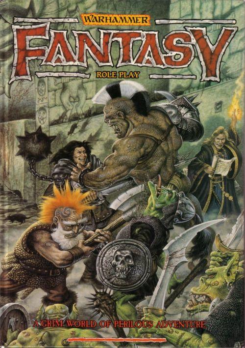 Warhammer Fantasy Roleplay ~ Games Workshop (1986)