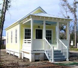 Small modular cottages marianne cusato cusato cottages for Modular shotgun house