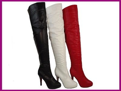 bd59ad6337422d High Heels Overknee Boots Gogo Domina Style