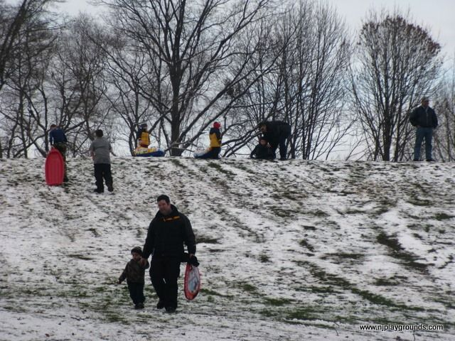 SLEDDING in NJ, Exploring the Parks, Schools and other Locations