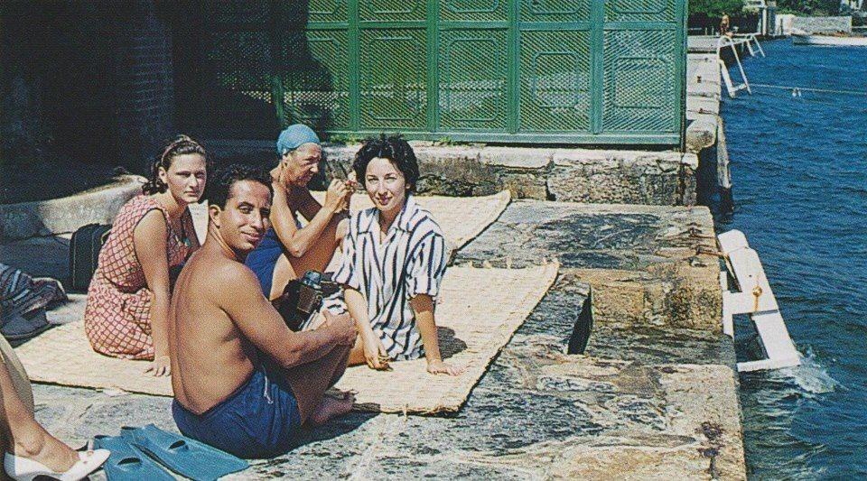 King Faisal Ii Of Iraq And His Fiancee Princess أسقنيها King Faisal Fiance Baghdad