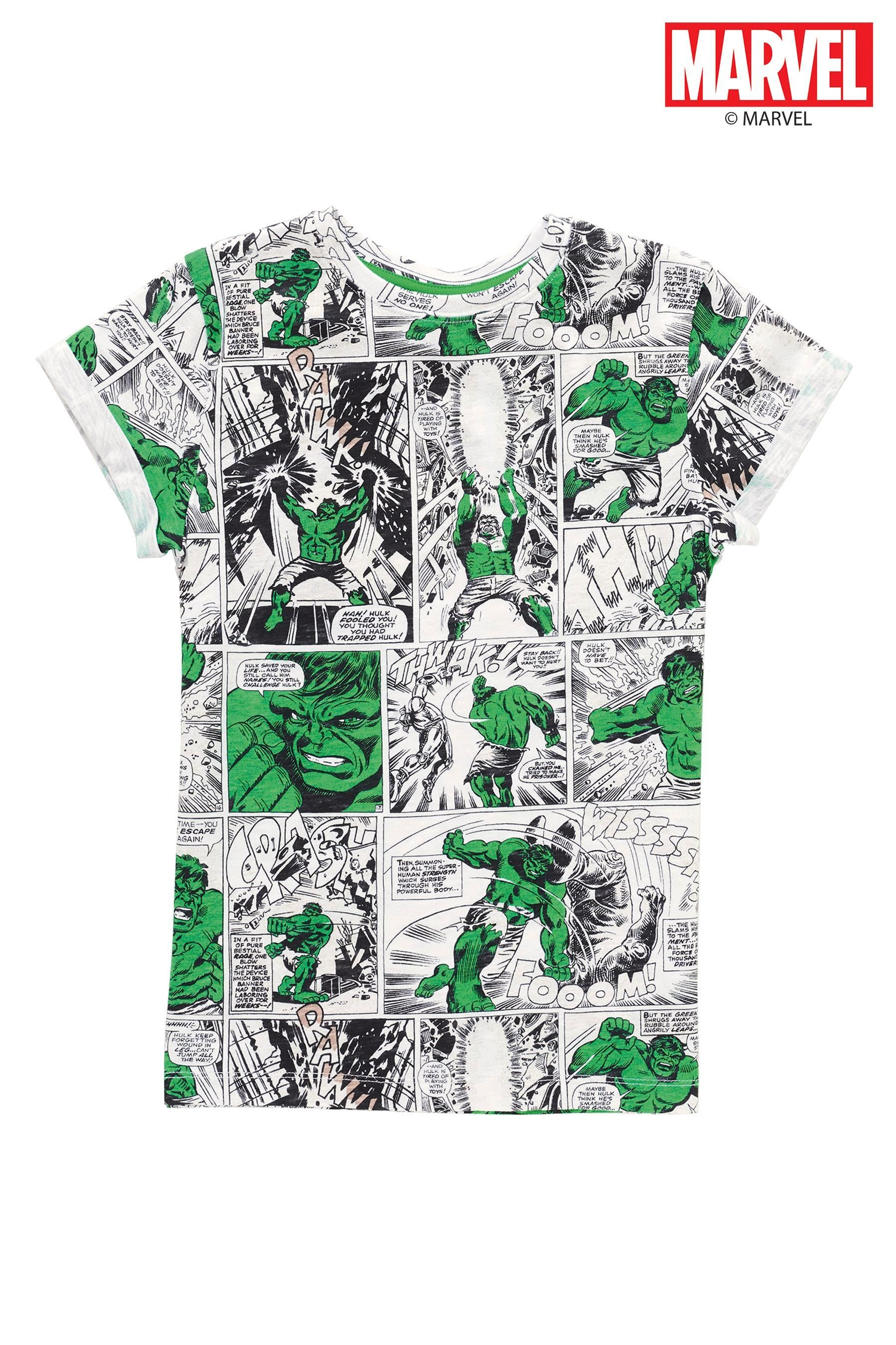 Design t shirt cheap uk - Buy Hulk Comic All Over Print T Shirt From The Next Uk Online Shop