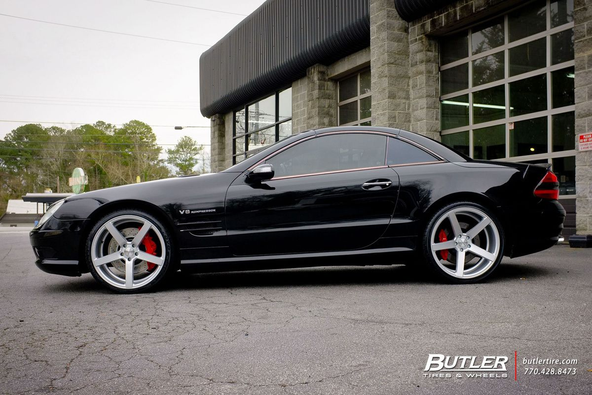 Mercedes Sl Class With 20in Vossen Cv3 R Wheels Exclusively From