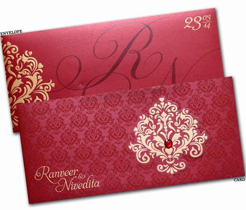 Indian Wedding Invitations In Usa