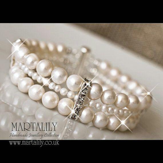 Bridal Jewelry Pearl Wedding Bracelet Bridal Cuff Bracelet Wedding Pearl Bracelet,Bridal bracelet