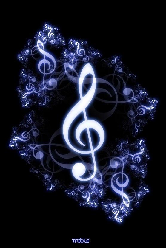 Je Remue Le Ciel La Jour La Nuit Je Danse Avec Le Vent La Pluie Un Peu D Amour Un Brin De Miel Et Je Dans Music Wallpaper Music Notes Art Music