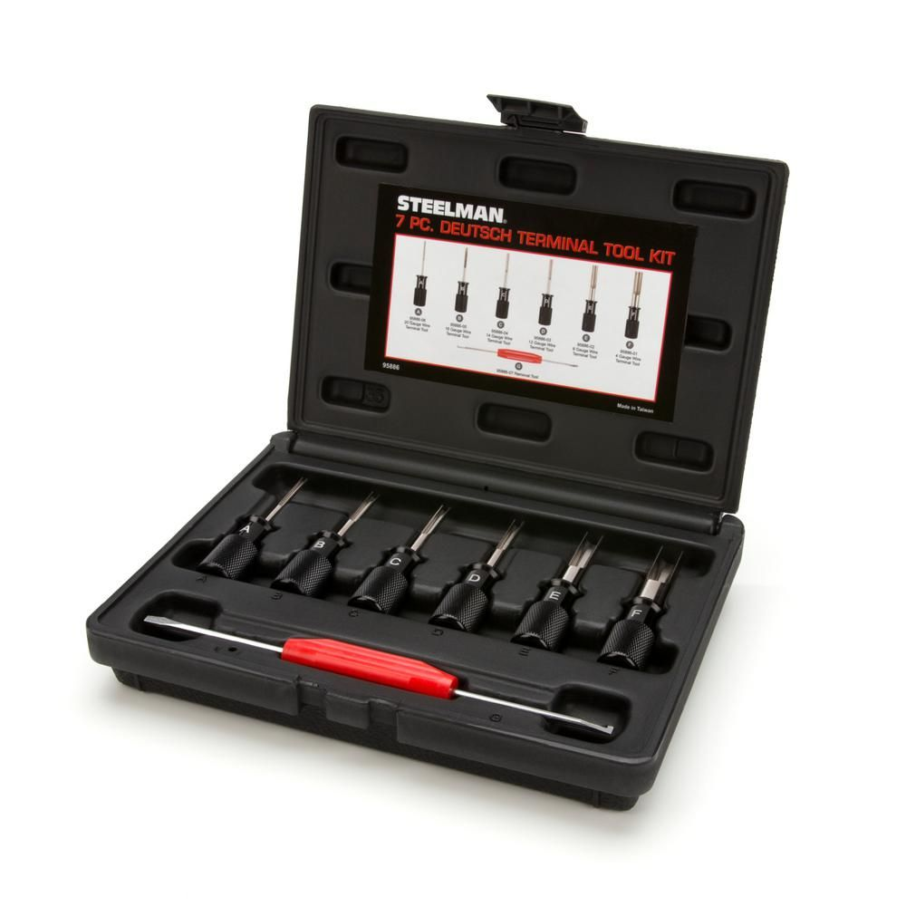 Steelman Deutsch Terminal Tool Kit (7Piece) Tool kit