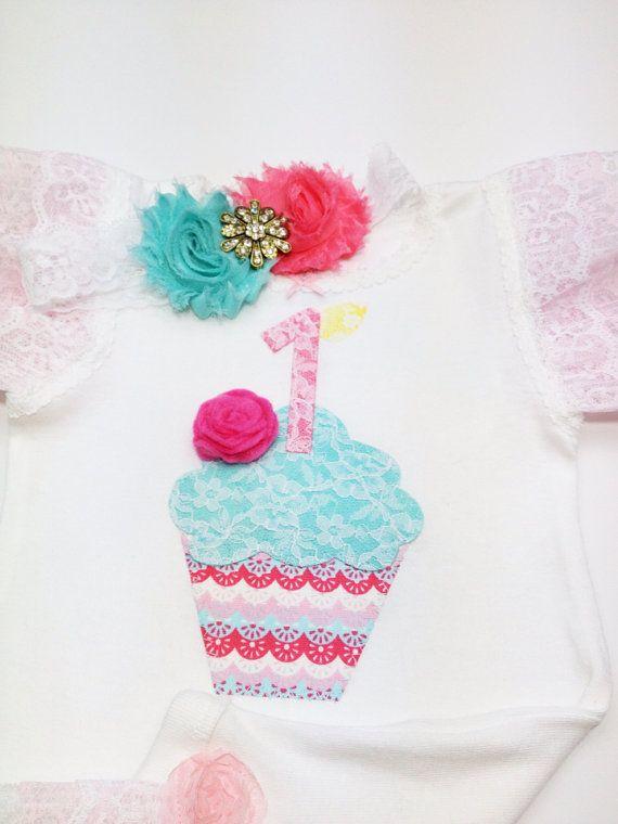 Girl 1st birthday onesie. Vintage 1st by LovelyLittleBabies, $39.00