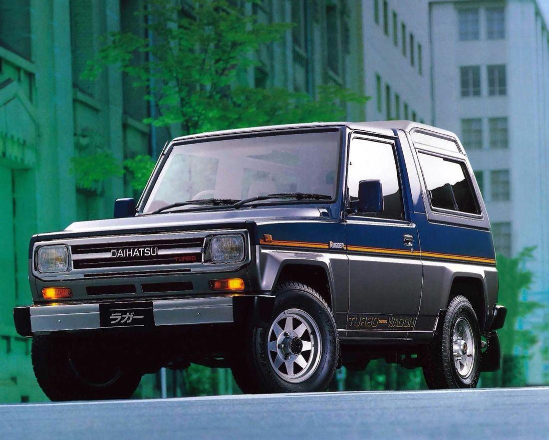 Daihatsu Rugger 1988 93 Dengan Gambar Mobil