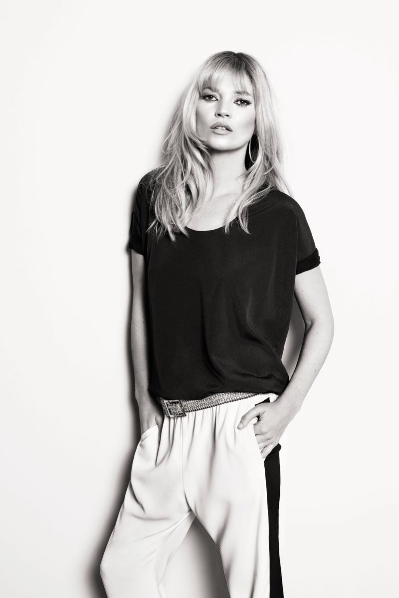 Kate Moss for Mango Spring 2012 Campaign by Terry Richardson