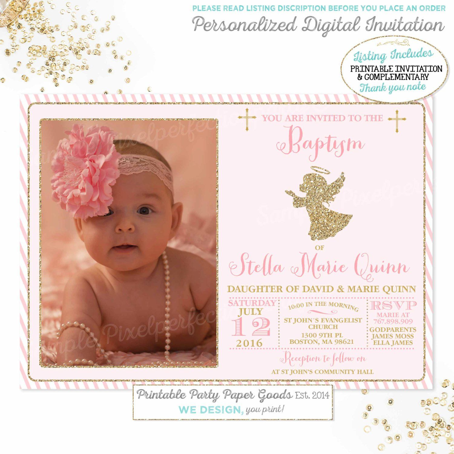 baptism invitations Cheap baptism invitations Invitations Design