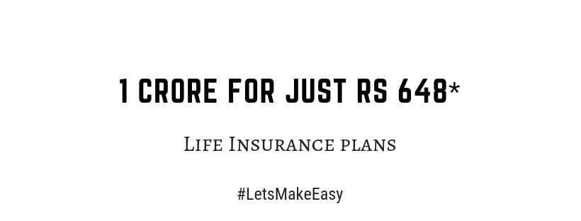 Rs 1 Crore With Just Monthly Premium Rs 641 With Images Life