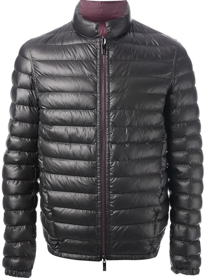 fec44686dd084 Armani Collezioni quilted puffer jacket on shopstyle.com | Buy down ...