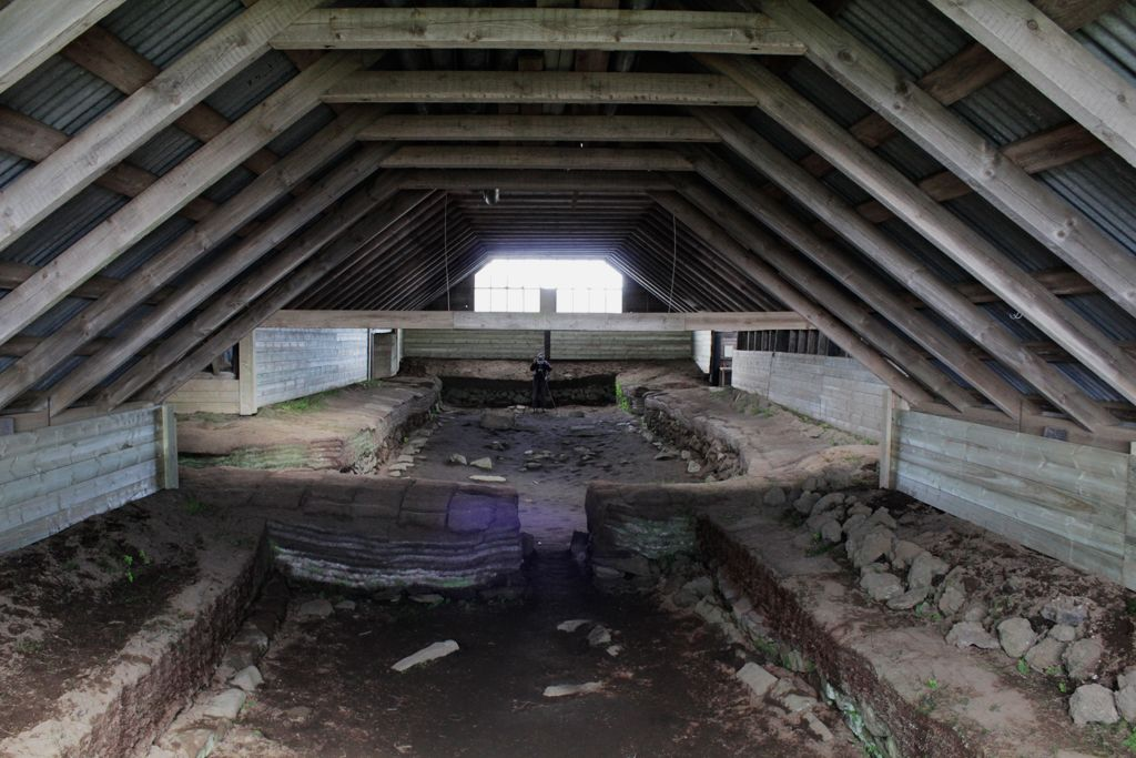 Inside viking longhouses, there was always a dense, smokey ...