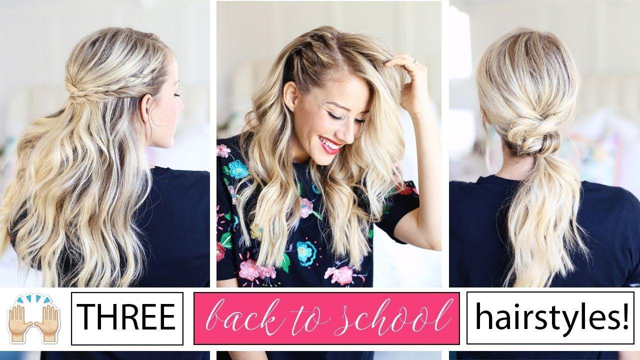three back to school hairstyles!! | twist me pretty