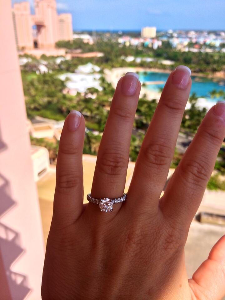 Finally I Get To Post My Engagement Ring He Proposed This Past