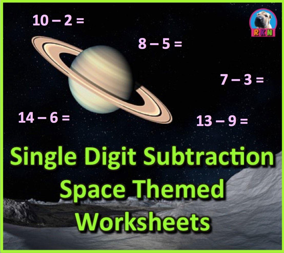 Single Digit Subtraction