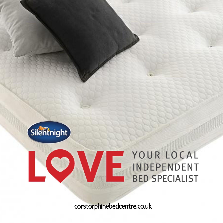 Silentnight Hatfield Memory Foam Divan Double Double Divan Bed Bed How To Finish A Quilt