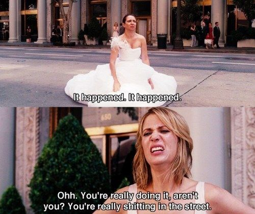 We heart it. Bridesmaids quotes ;) Movie quotes funny