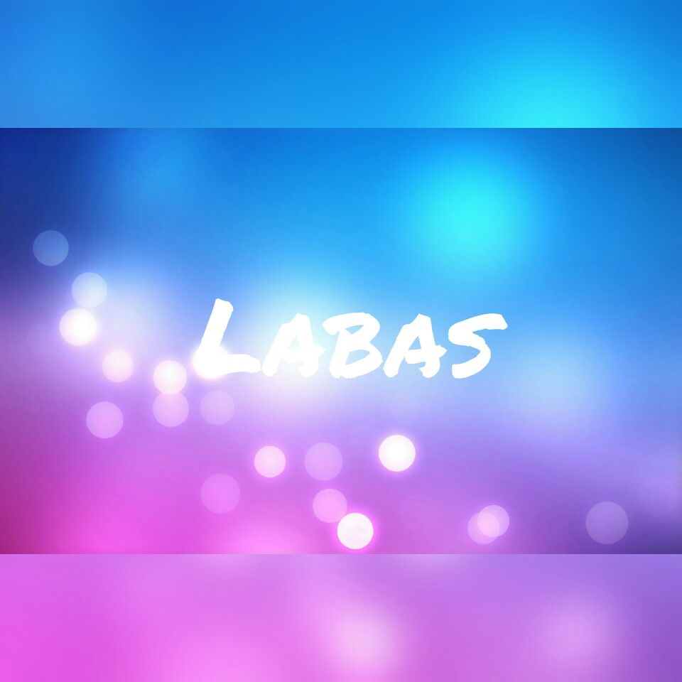 ~Labas~ Made by Hannelore Leemans