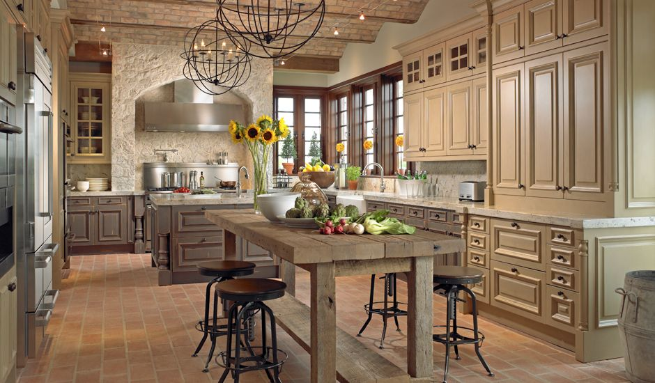 DOWNSVIEW of DANIA Country kitchen designs, Kitchen