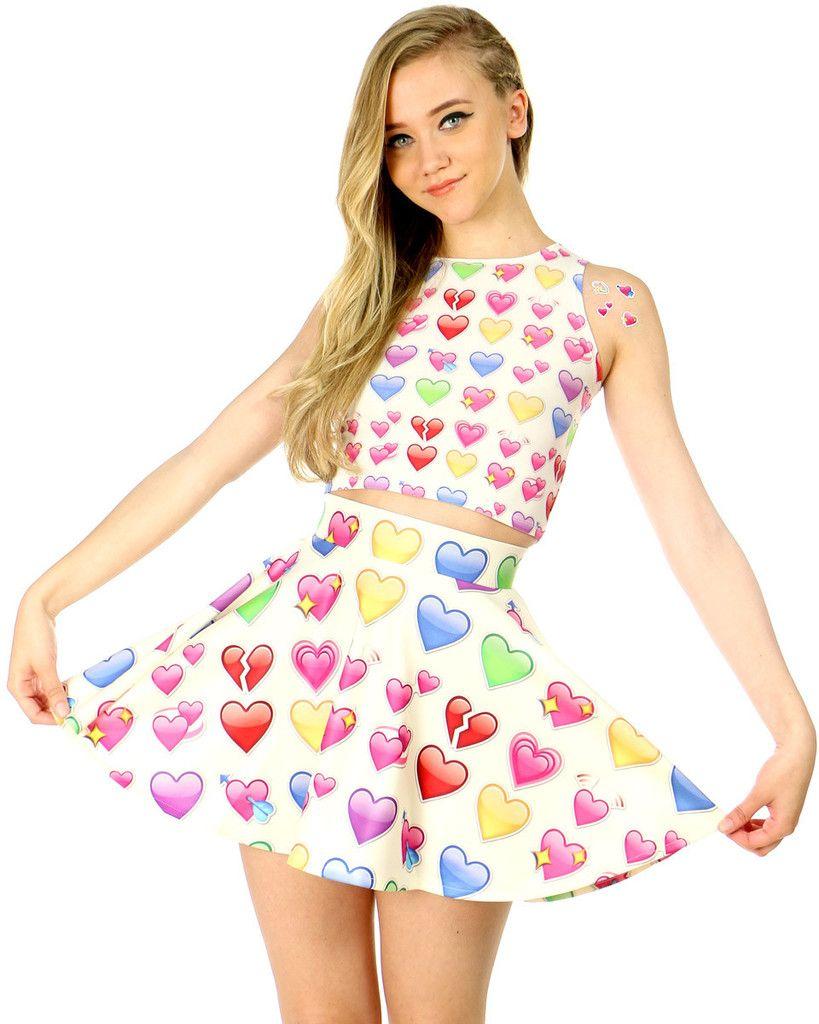 Resultado de imagen para faldas con emojis