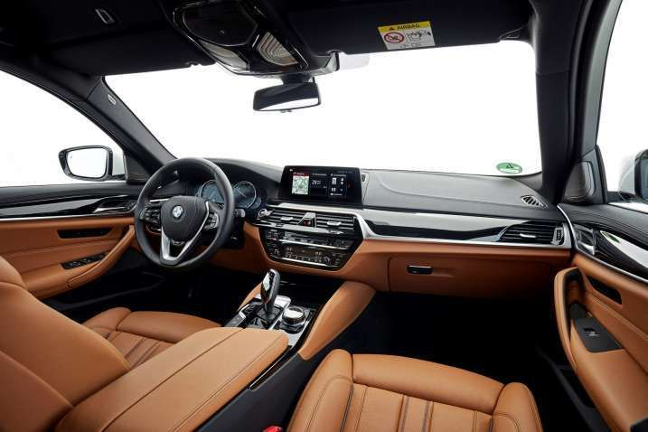 2018 Bmw 5 Series Red Interior Fresh