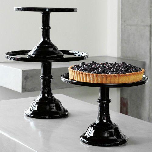 Mosser Cake Plates Set Of 3 Black Rasberry Glass Pedestal Cake Stands 9 10 12 Glass Cakes Glass Cake Plate Glass Pedestal Cake Stand
