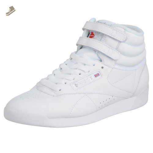 33c2658a829 Reebok Freestyle Hi Womens Trainers White - 5 UK - Reebok sneakers for women  ( Amazon Partner-Link)