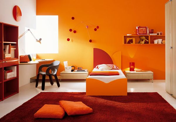 Orange Interior Design Ideas | InteriorHolic.com
