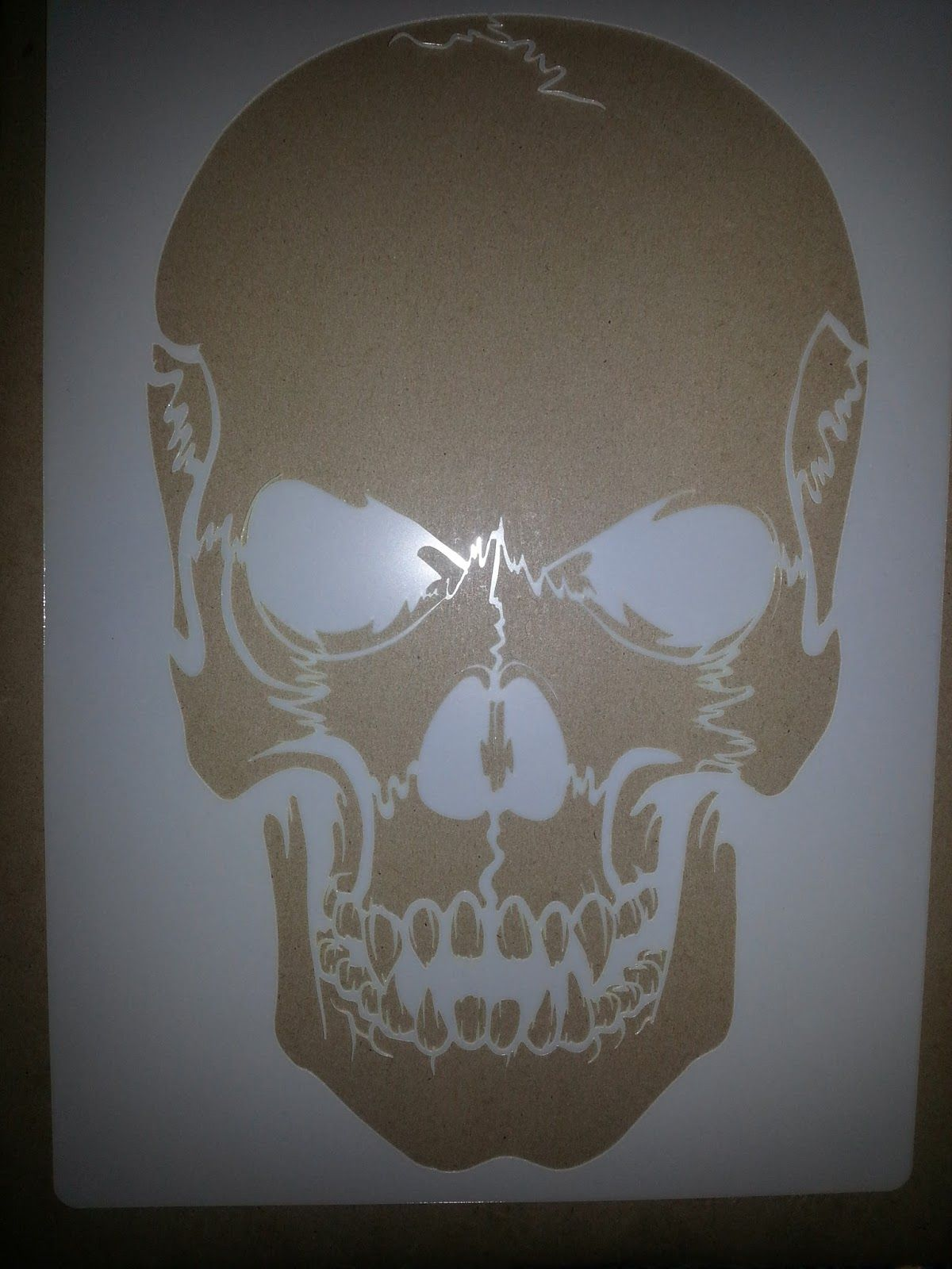 Test Try Results Airsick Airbrush Stencil Templates
