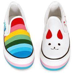 zapatos pintados     zapatos pintados