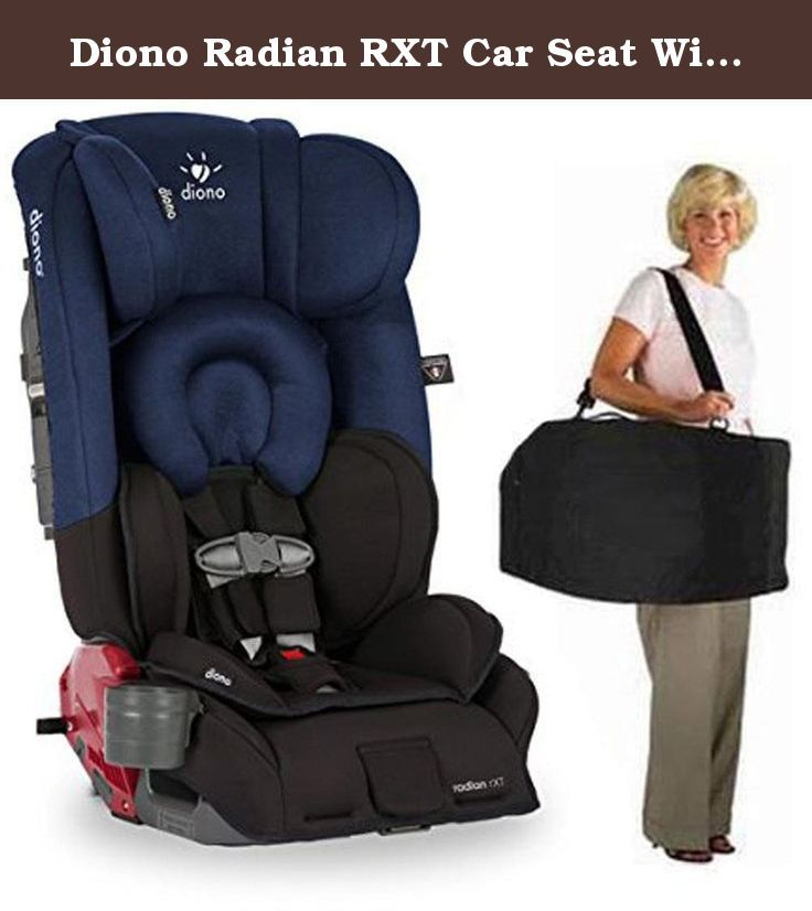 Diono Radian RXT Car Seat With Carrying Bag Black Cobalt. The ...