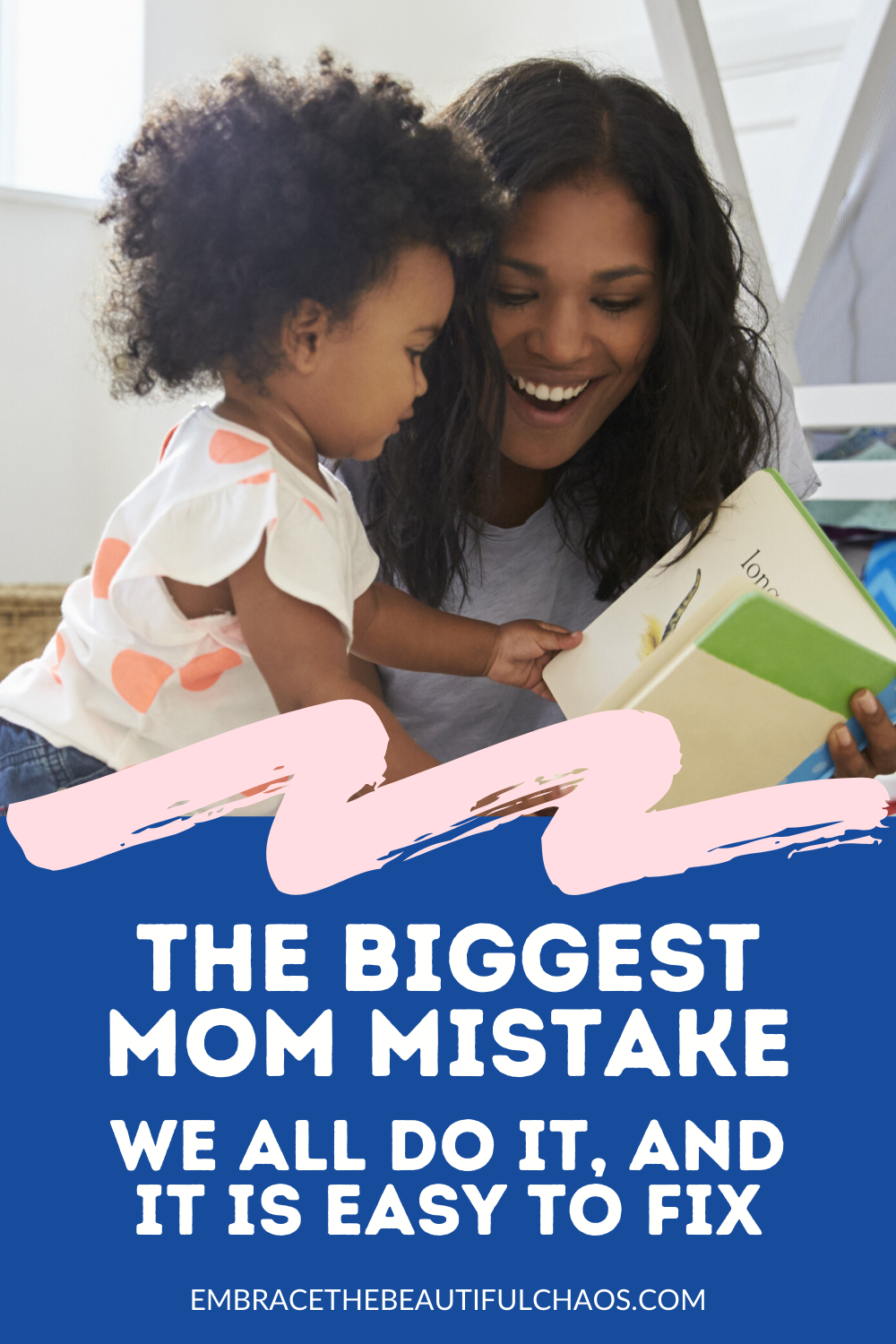 Don't worry, we all do it mom! But this one mistake is so easy to fix. Find out what it is, and how I realized I could change it (and be happier as a result). #momlife #parenting #parentingadvice #motherhood #tryingmybest