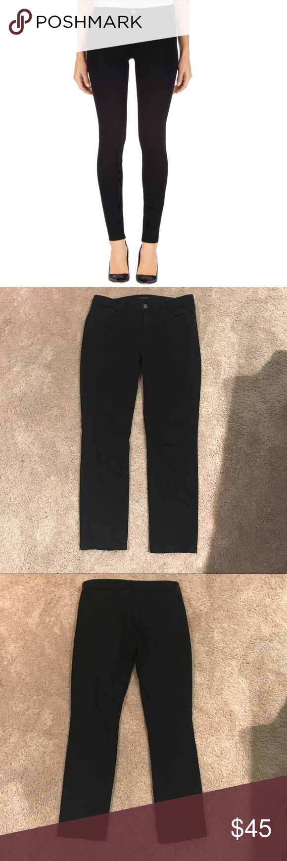 a00c3ffd9923 J. Brand 811 MID-RISE SKINNY LEG IN SHADOW size 28 Perfect condition -