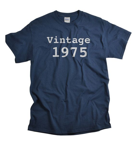 40th Birthday Tshirt Vintage 1975 This is a great gift for a