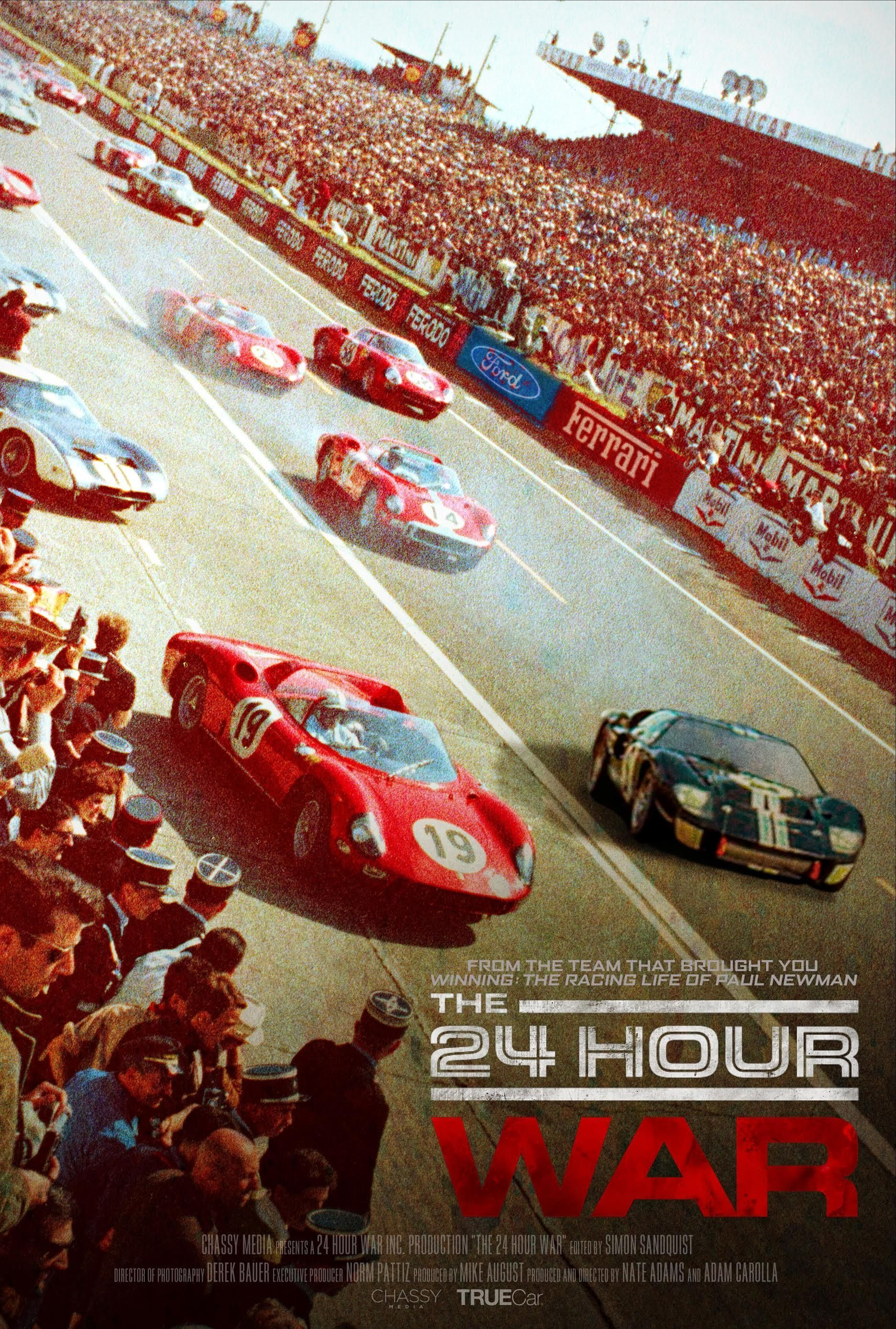 Adam Carolla On The 24 Hour War His Le Mans Rivalry Documentary