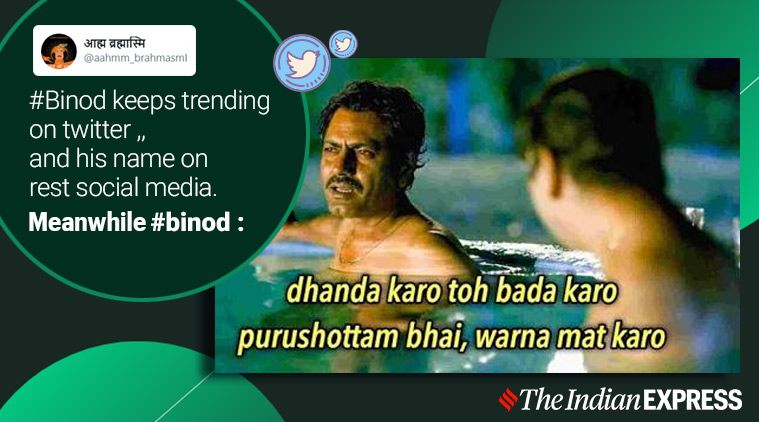 Everything Is Binod How One Youtube Comment Sparked The Most Bizarre Meme Trend Trending News The Indian Express Memes List Of Jokes Funny Thoughts