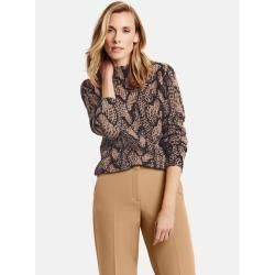 Photo of Pullover mit Zopfmuster Braun Gerry Weber