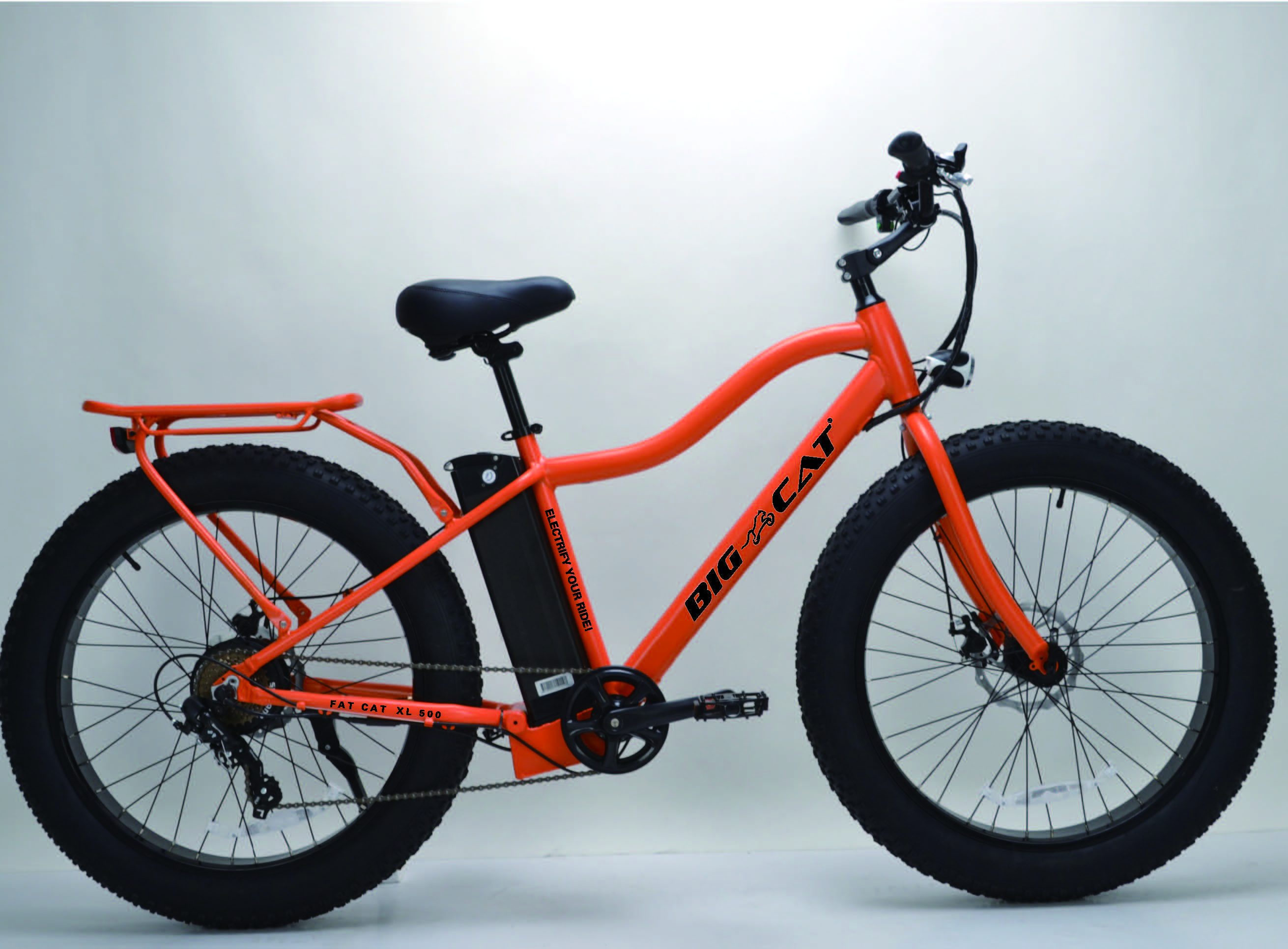 All Terrain Electric Fat Bike This Ebike By Big Cat Is This
