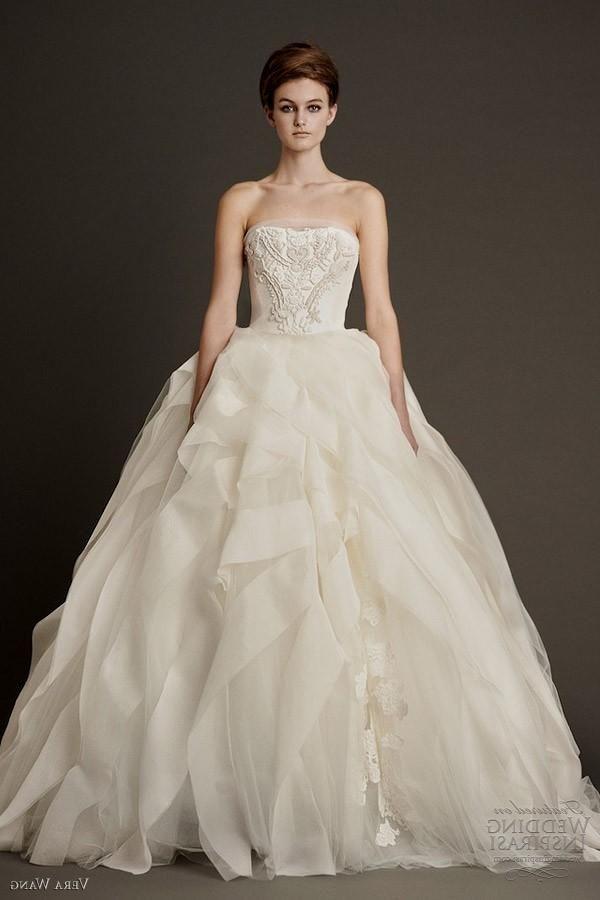 Ball Gown Wedding Dresses Vera Wang | Dream Wedding | Pinterest ...