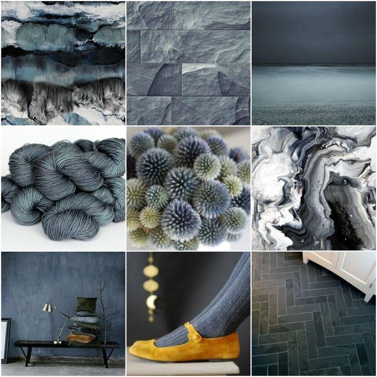 mood board monday slate farbpaletten wandfarbe und grau. Black Bedroom Furniture Sets. Home Design Ideas