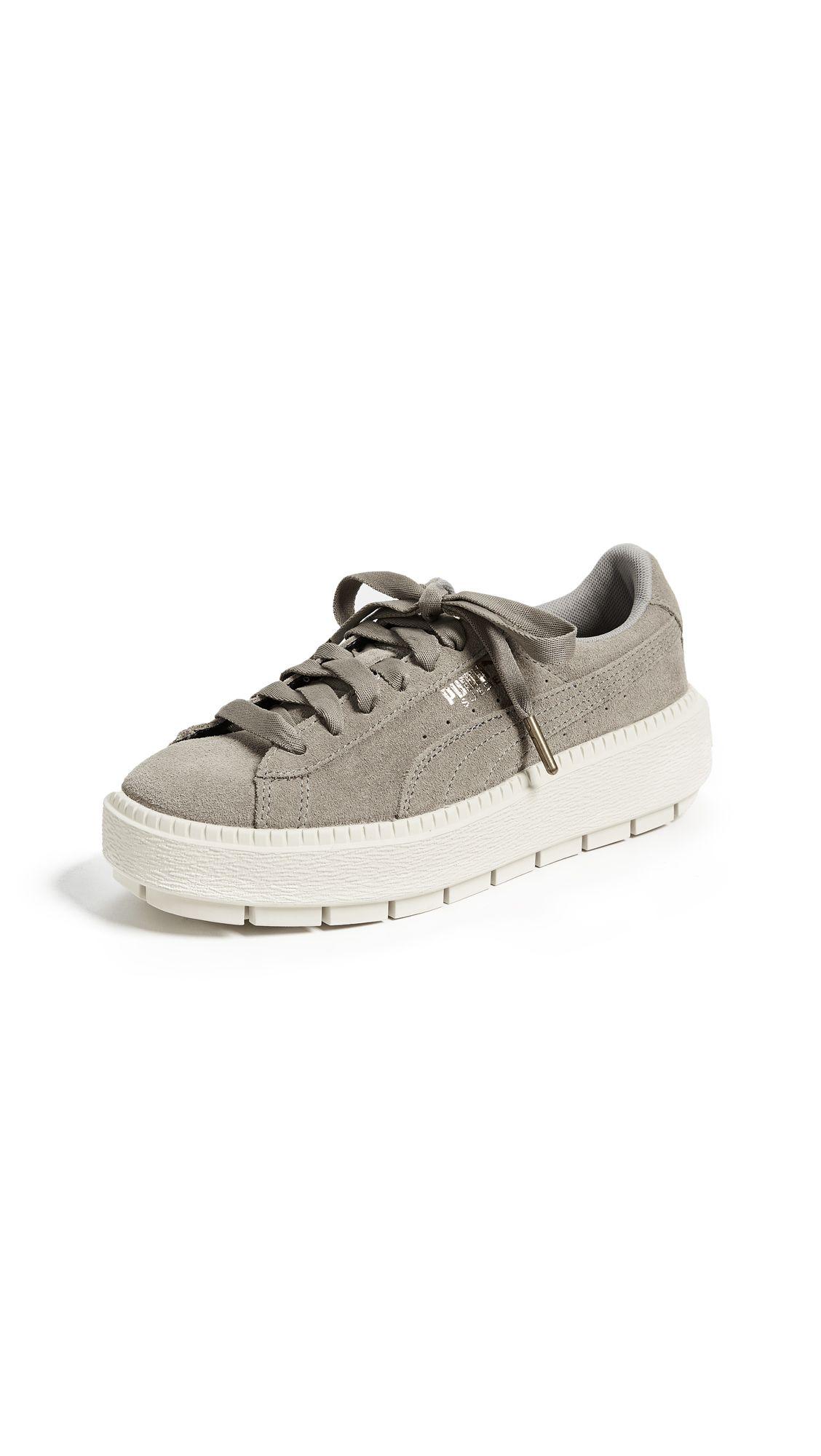 13a0995b7ef PUMA SUEDE PLATFORM TRACE SNEAKERS.  puma  shoes